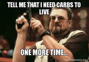 Vegetarian Ketogenic Diet meme