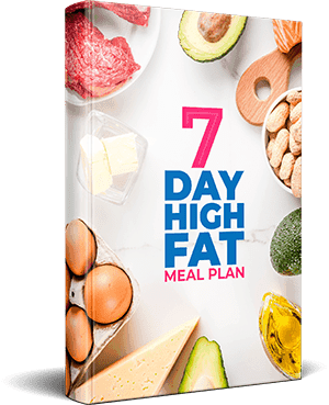 7 Day High FAT Meal Plan