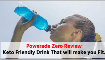 Powerade Zero Review Keto electrolyte drinks
