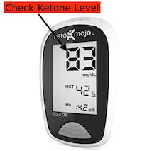 Ketomojo to check ketones level
