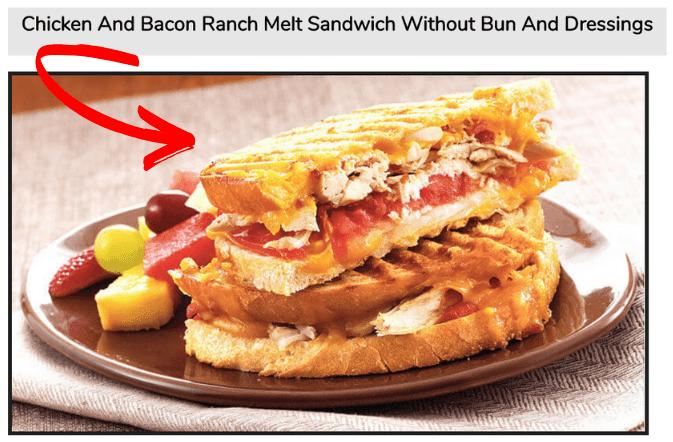 Subway Keto Friendly Sandwich